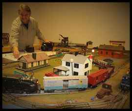 Dad - train set